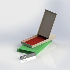 单门保管箱喷塑内盒(小)